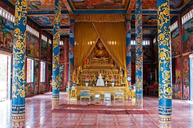 Wat Krom Temple, Sihanoukville, Cambodia