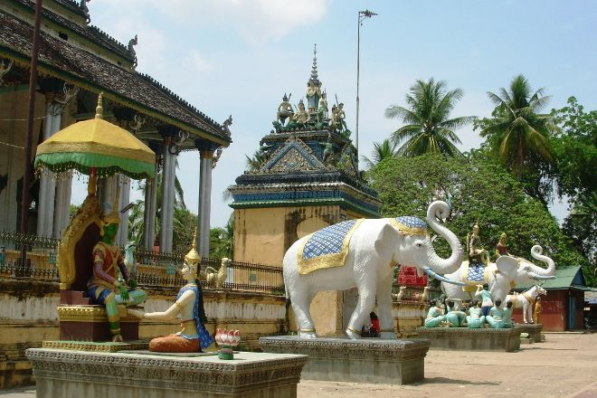 White Elephant Pagoda (Wat Tahm-rai-saw), Battambang, Cambodia