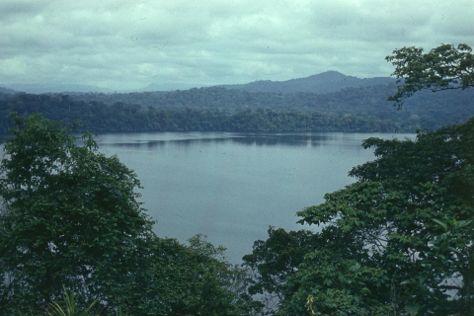 Barombi Mbo Crater Lake, Kumba, Cameroon