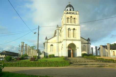 Edea Cathedral, Edea, Cameroon