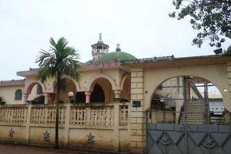 La mosquee de Foumban, Foumban, Cameroon