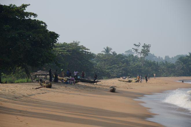 Londji village des pecheurs, Kribi, Cameroon