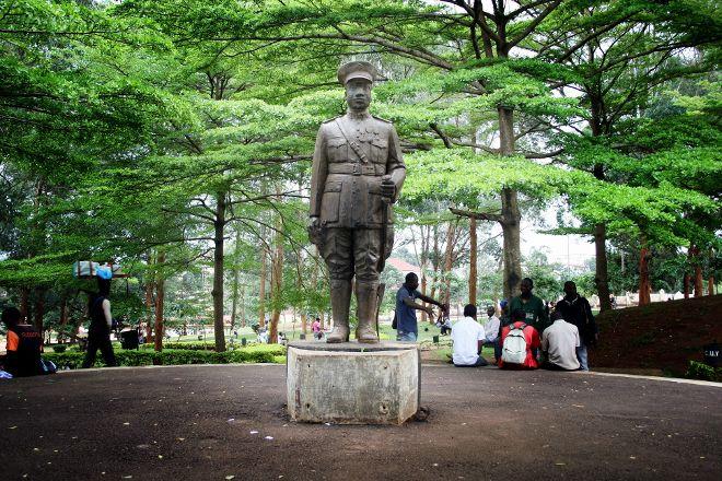 Statue of Charles Atangana, Yaounde, Cameroon
