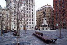 Place d'Armes, Montreal, Canada