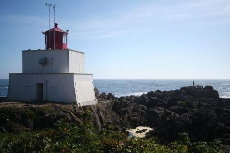 Amphitrite Point Lighthouse, Ucluelet, Canada