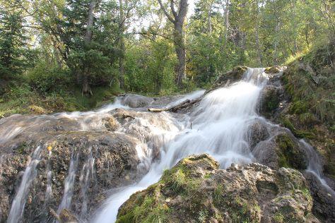 Big Hill Springs Provincial Park, Cochrane, Canada
