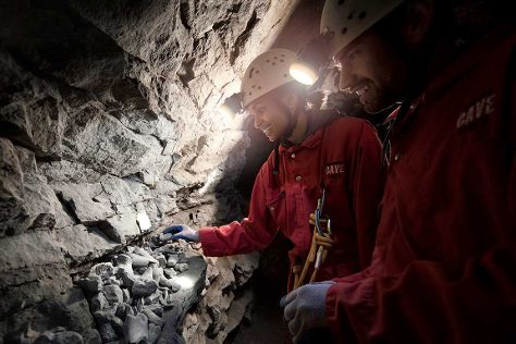 Canmore Cave Tours, Canmore, Canada