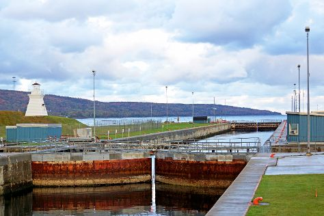 Canso Canal, Port Hastings, Canada