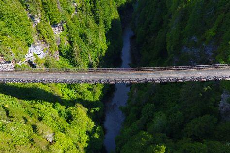 Canyon des portes de l'enfer, Saint-Narcisse-de-Rimouski, Canada