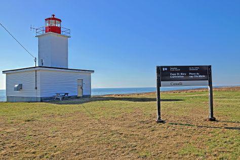 Cape Saint Mary Lighthouse Park, Mavillette, Canada