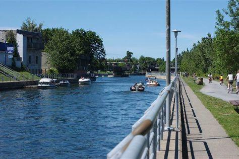 Chambly Canal, Chambly, Canada
