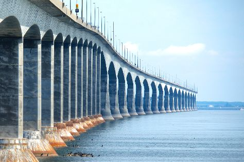 Confederation Bridge, Bayfield, Canada
