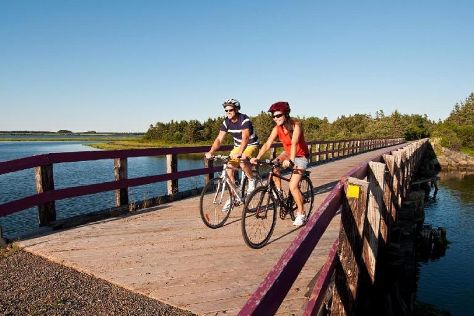 Confederation Trail Bike Rental Adventures, Saint Peters Bay, Canada