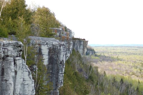 Cup and Saucer Hiking Trail, Manitoulin Island, Canada