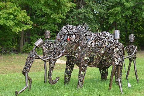 Humanics Sanctuary & Sculpture Park, Cumberland, Canada