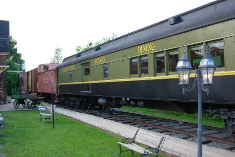 Intercolonial Railway Station, Tatamagouche, Canada