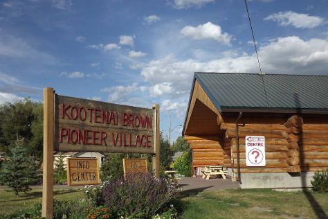 Kootenai Brown Pioneer Village, Pincher Creek, Canada