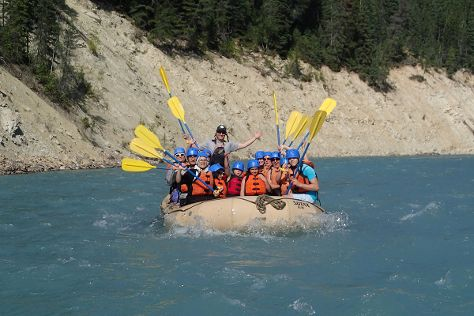 Kootenay River Runners, Radium Hot Springs, Canada