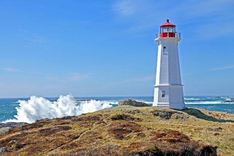 Louisbourg Lighthouse, Louisbourg, Canada