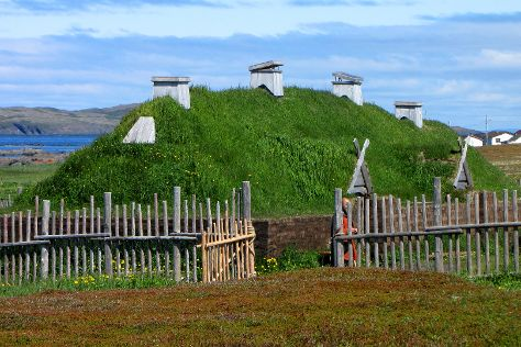 Norstead Viking Village, L'Anse aux Meadows, Canada