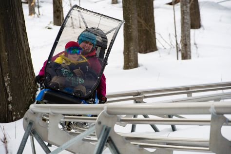 Ridge Runner Mountain Coaster, Blue Mountains, Canada