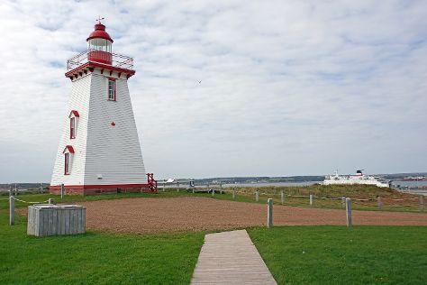 Souris Lighthouse, Souris, Canada