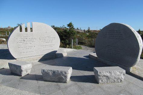 Swissair Flight 111 Memorial, Peggy's Cove, Canada