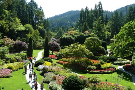 The Butchart Gardens, Central Saanich, Canada