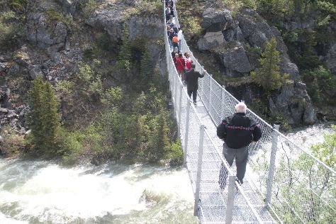 Yukon Suspension Bridge, Stikine Region, Canada