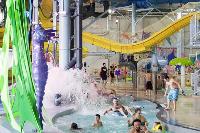 Adventure Bay Family Water Park, Windsor, Canada