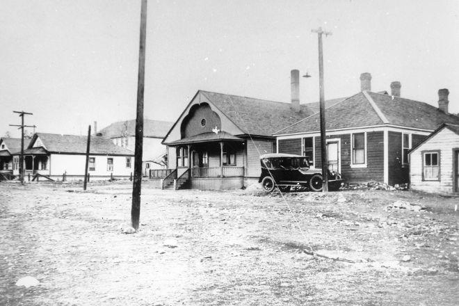 Alberta Provincial Police Barracks, Coleman, Canada