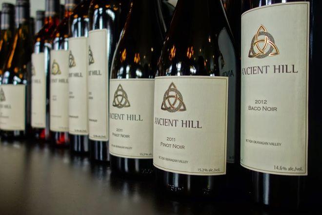 Ancient Hill Estate Winery, Kelowna, Canada
