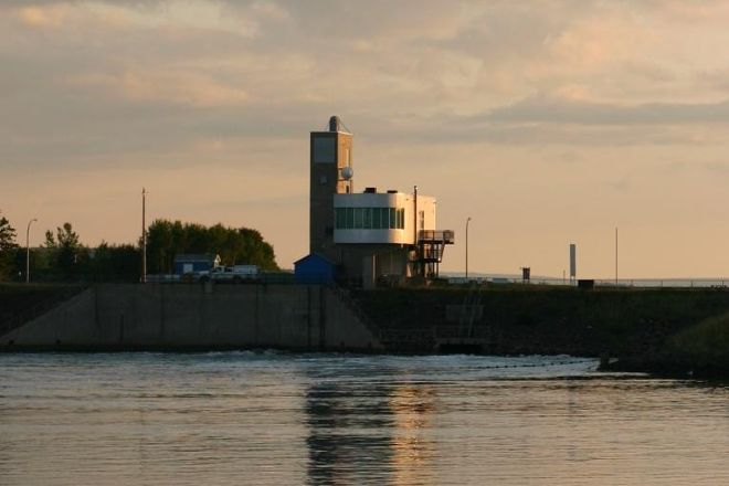 Annapolis Tidal Generating Station, Annapolis Royal, Canada