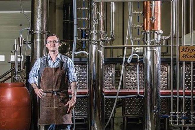 Big Rig Craft Distillery, Nisku, Canada