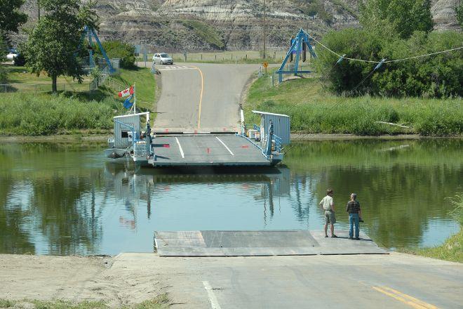 Bleriot Ferry, Drumheller, Canada