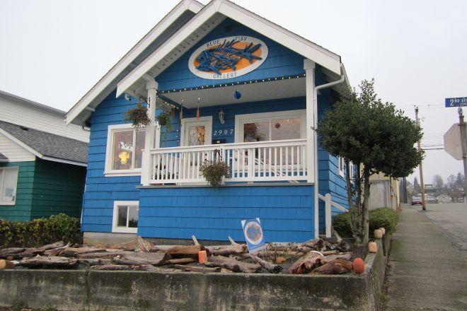 Blue Fish Gallery, Port Alberni, Canada