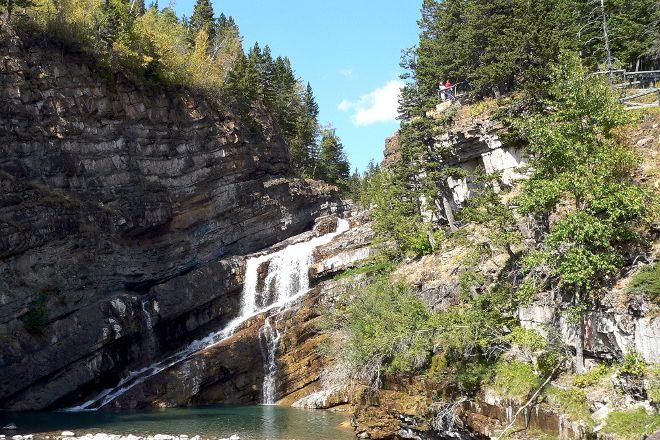Cameron Falls, Waterton Lakes National Park, Canada