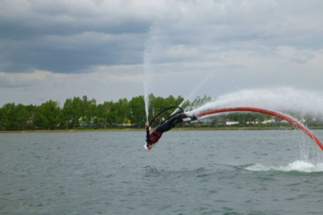 Canadian Jetpack Adventures, Sylvan Lake, Canada