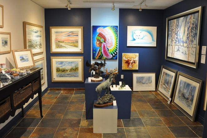 Canwest Art Gallery on the Lake, Harrison Hot Springs, Canada
