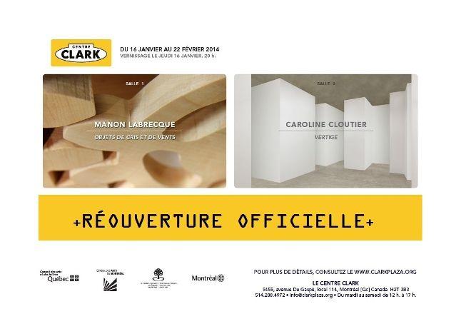 Centre d'Art et de Diffusion Clark, Montreal, Canada
