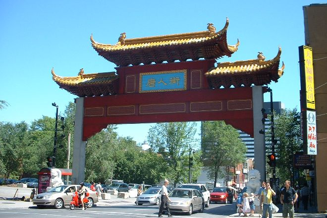 Chinatown, Montreal, Canada