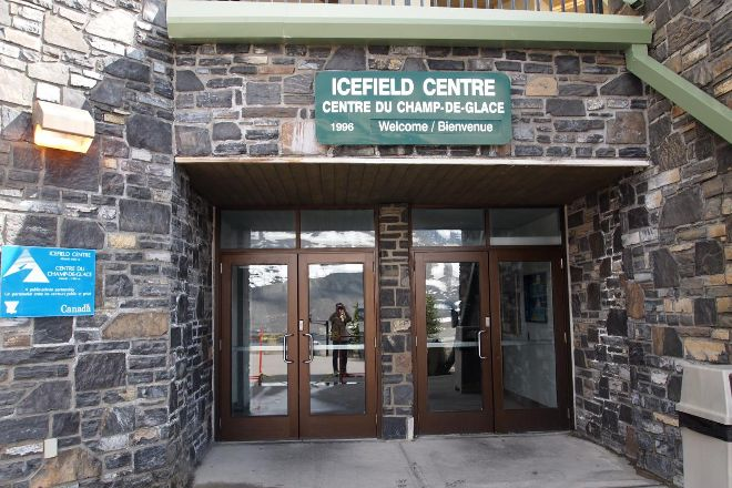 Columbia Icefield Discovery Centre, Jasper National Park, Canada