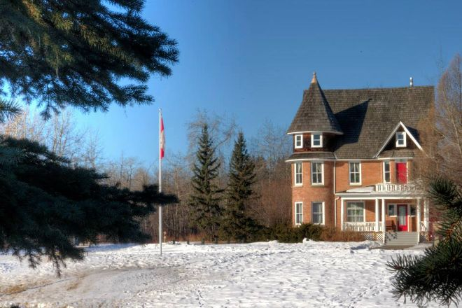 Cronquist House, Red Deer, Canada