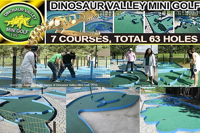 Dinosaur Valley Mini Golf & Josephine's Vegetables, Sudbury, Canada