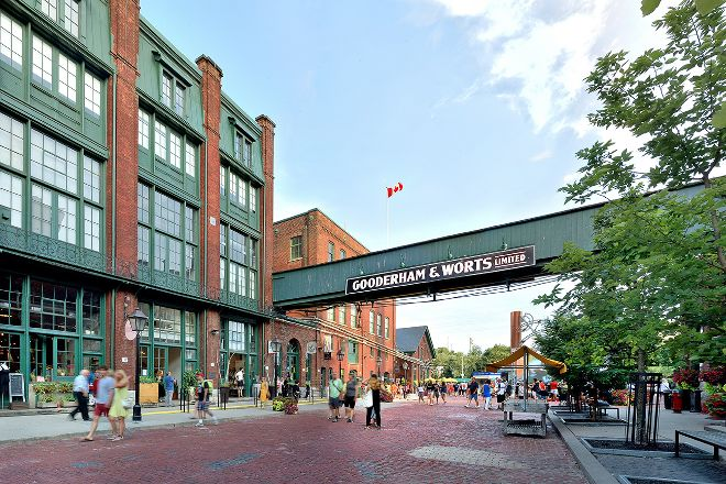 The Distillery District, Toronto, Canada