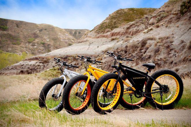 Drumheller E-Bikes, Drumheller, Canada