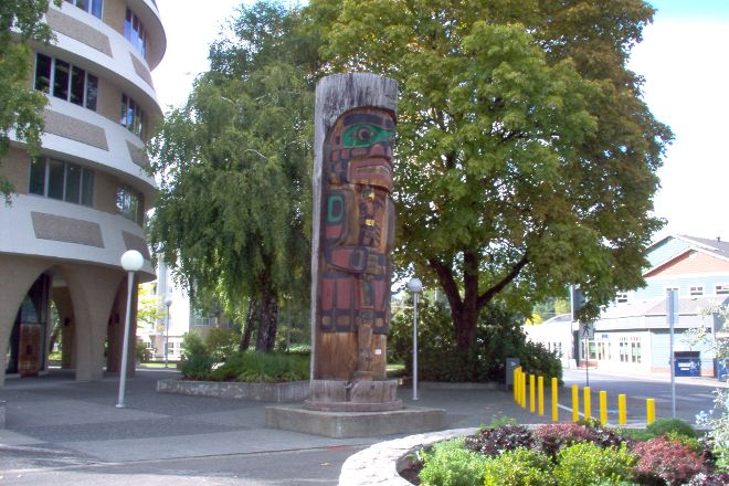 Duncan Totem Poles, Duncan, Canada