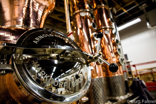 Eau Claire Distillery, Turner Valley, Canada