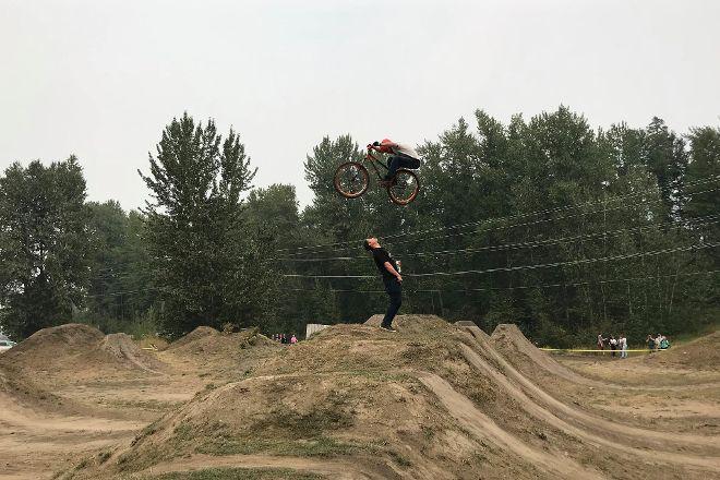 Fernie Dirt Jump Park, Fernie, Canada