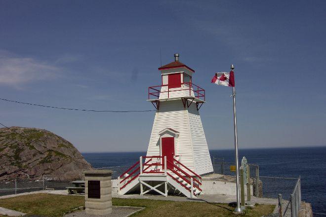 Fort Amherst Lighthouse, St. John's, Canada